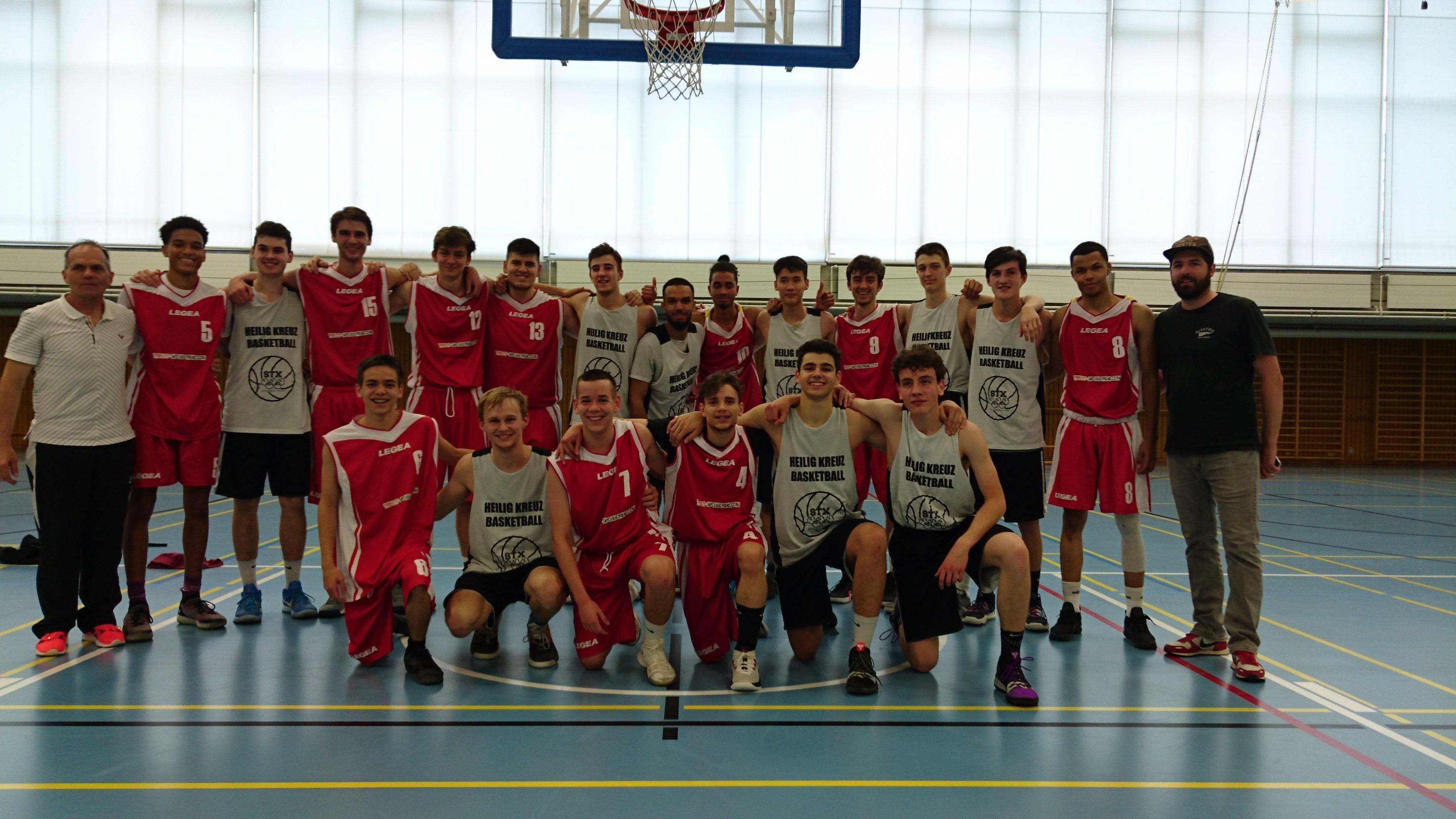 Schweizerische Mittelschulmeisterschaften Basketball 2019 – Vernier, Genève le 17.05.2019: 2e place